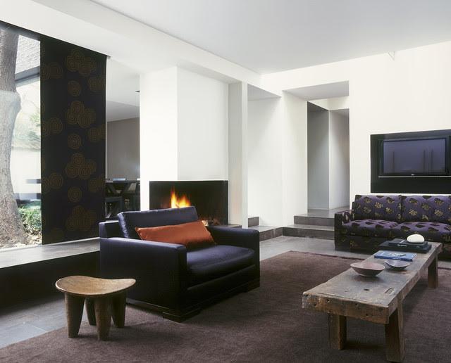Megeve Sofa & Armchair - modern - media room - other metro - by usona