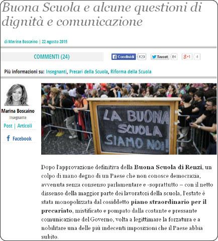 http://www.ilfattoquotidiano.it/2015/08/22/buona-scuola-e-alcune-questioni-di-dignita-e-comunicazione/1975490/