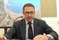 Il sindaco di Castellammare di Stabia, Luigi Bobbio