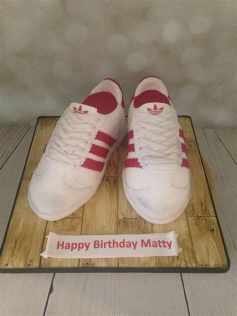 Adidas Trainers Birthday cake   Mel's Amazing Cakes