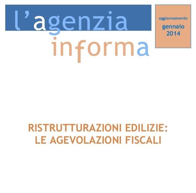 Agevoblog guida alle agevolazioni fiscali per - Acquisto mobili detrazione 2014 ...