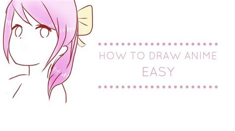draw manga easy youtube