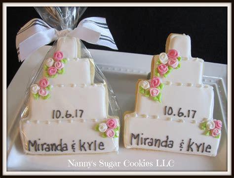 Nanny's Sugar Cookies LLC: Wedding Cookie Favors