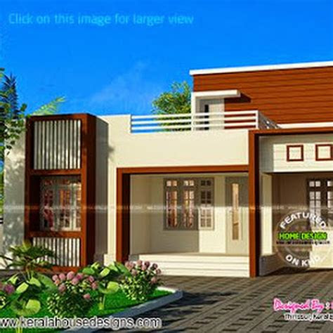 small single storied house  sq ft kerala home design