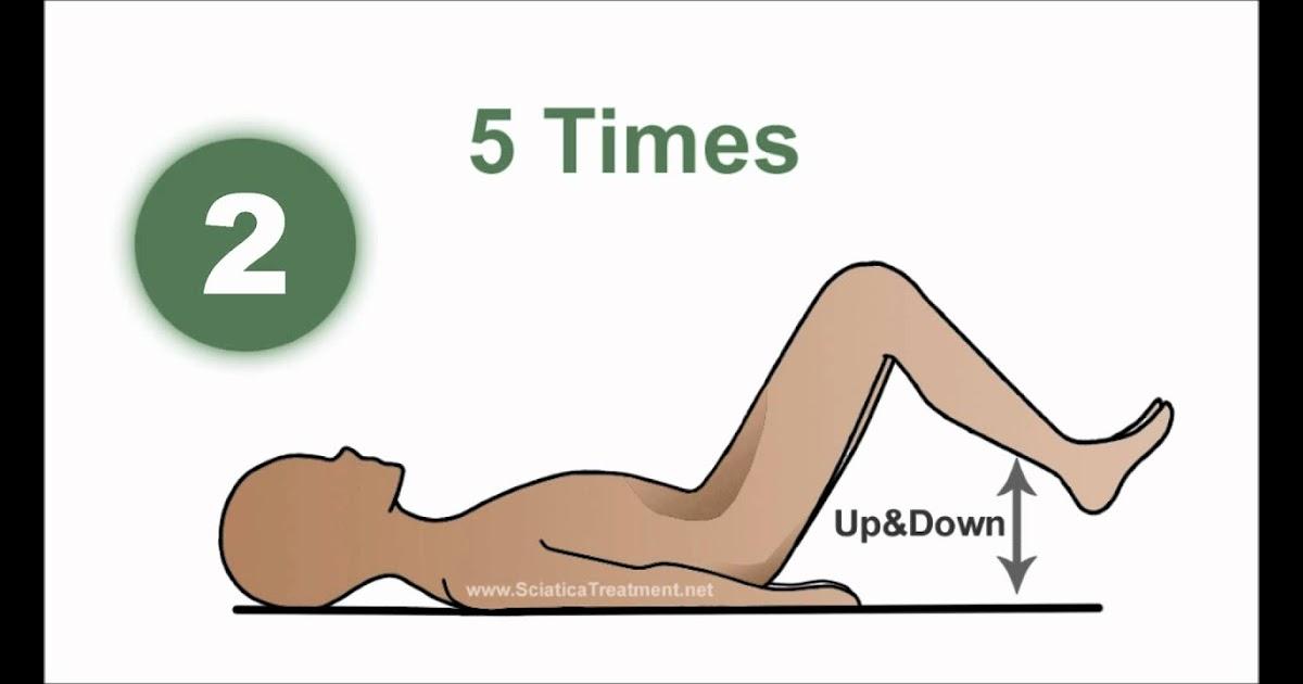 Levy H : Sciatica knee pain exercises