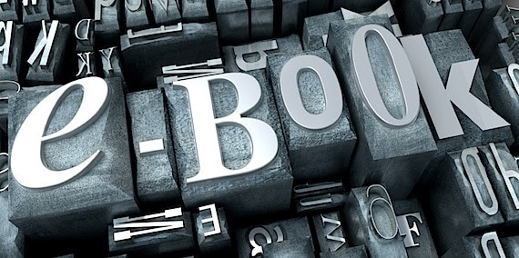 """3D Rendering of the Word """"eBook"""" Using Conventional Type - Photo courtesy of ©iStockphoto.com/Franck-Boston, Image #12661284"""