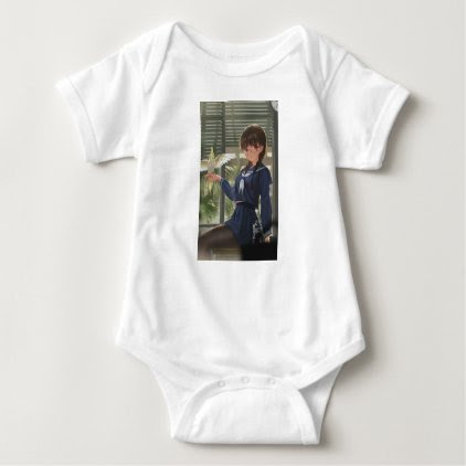 Lil Sis Waits For Your From Work Baby Bodysuit