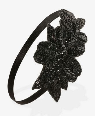 Forever 21 Sequin Floral Headwrap