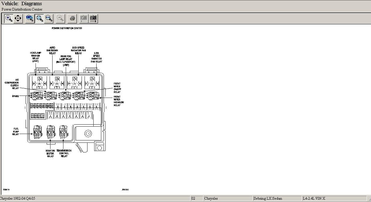 2004 chrysler sebring fuse box diagram 34 2002 chrysler sebring fuse box diagram wiring diagram list  chrysler sebring fuse box diagram