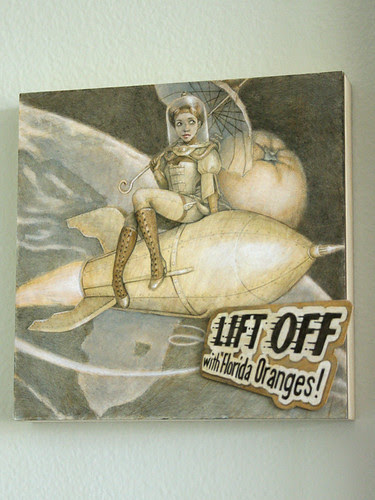 "Rocketgirl - ""Lift Off with Florida Oranges!"""