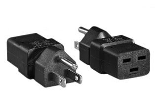 Iec 60320 C 19 C19 Outlet Adapter Nema 5 15p Plug Mates Iec60320 C