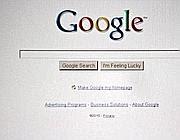 La maschera di ricerca di Google
