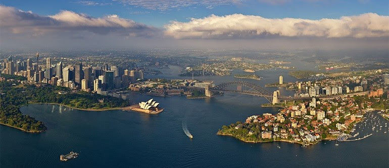 Sydney, Australia - AirPano.com • panorama de 360 ​​grados de la antena • 3D Virtual Tours Around the World