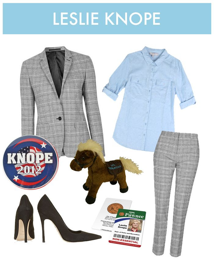 Leslie Knope Halloween Costume - Parks and Recreation