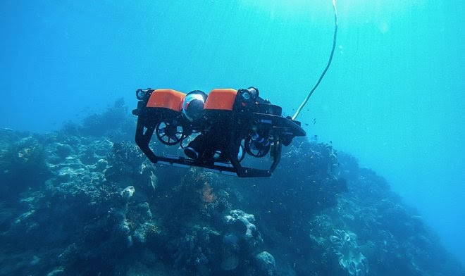 Веб-портал позволит посетителям поуправлять подводным роботом-исследователем в онлайне