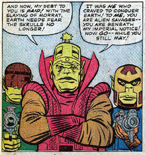 Just one of the 5000 hats of Jack Kirby