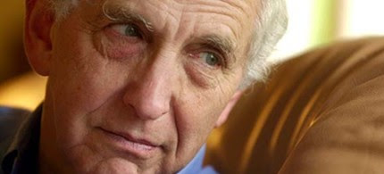 Long-time anti-war activist and hero of the Pentagon Papers, Daniel Ellsberg. (photo: Mark Constantini/SFChronicle)