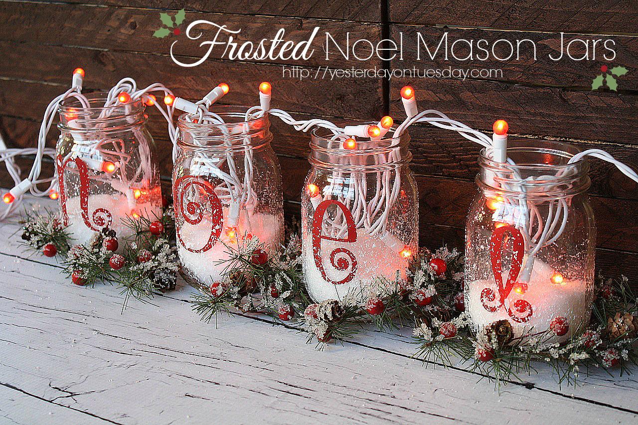 Christmas Craft Ideas Mason Jars Eki Riandra