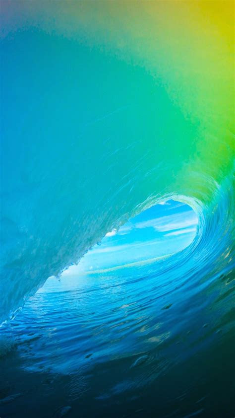 ios  colorful surf wave iphone  hd wallpaper iphone
