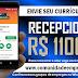 RECEPCIONISTA COM SALÁRIO  R$ 1100,00 PARA EMPRESA DE EVENTOS EM SANTO AMARO