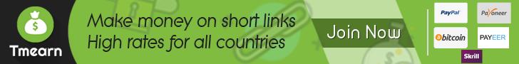TmEarn - Short Links and Earn Money