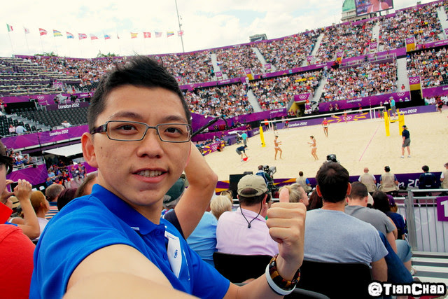 Samsung Global Blogger Beach Volleyball Olympic Horse Guard Parade