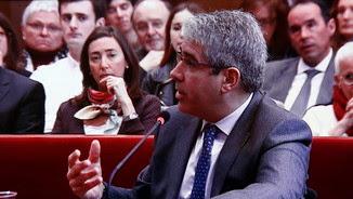 Francesc Homs declarant aquest dimecres al judici del 9-N a Barcelona (ACN)