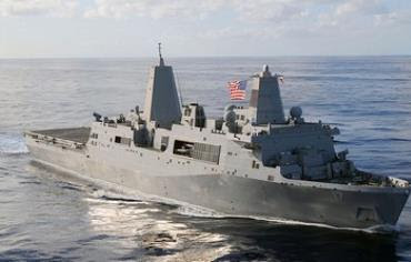 The USS San Antonio
