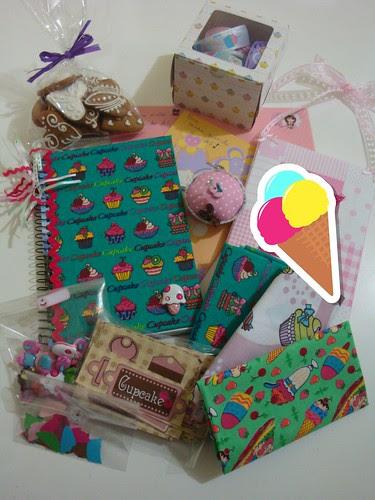 """Troquinha """"Cupcake"""" do grupo I Love Handmade! by Menina Prendada -"""