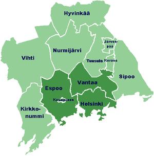 Pääkaupunkiseutu Väkiluku