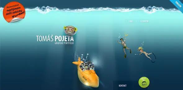 Tomas-Pojeta creative footer designs