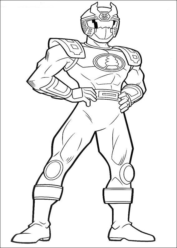 Coloriage Power Rangers Megaforce Coloriage Power Ranger Dino Super
