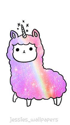 kawaii unicorns google search llamas cute unicorn