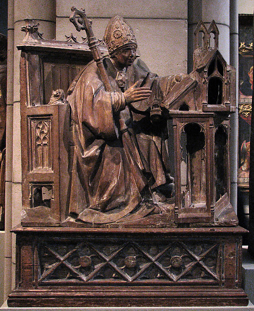 Saint Ambrose in His Study