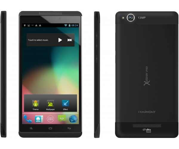 Symphony Xplorer P10: Android Phone Full Specifications & Price