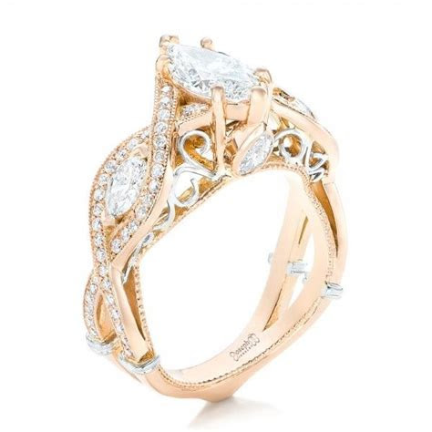 461 best images about Rose Gold on Pinterest   Diamond