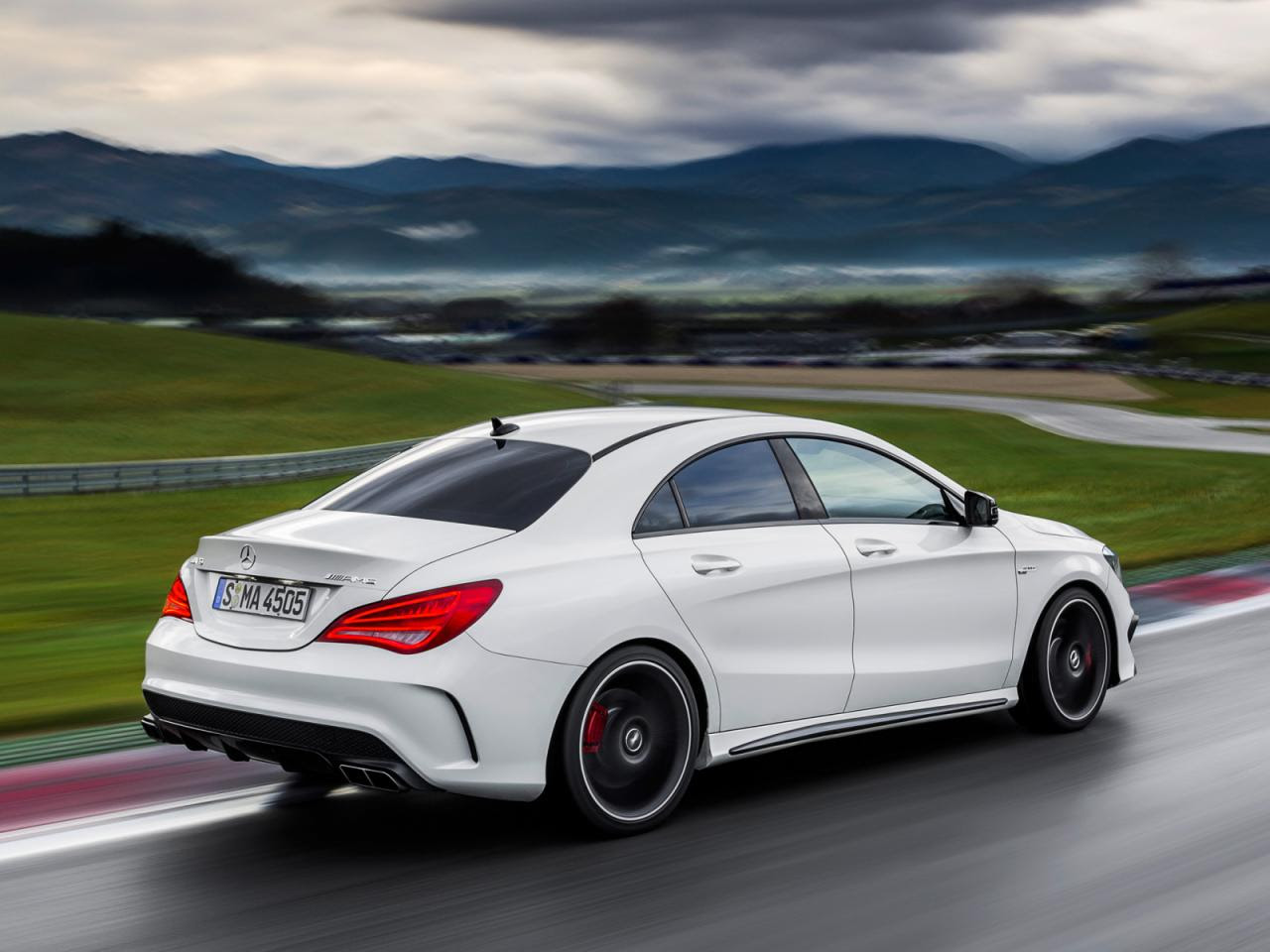 Mercedes-Benz CLA 45 AMG revealed ahead of New York debut ...