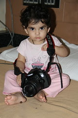 One Year Old Street Photographer Nerjis Asif Shakir by firoze shakir photographerno1