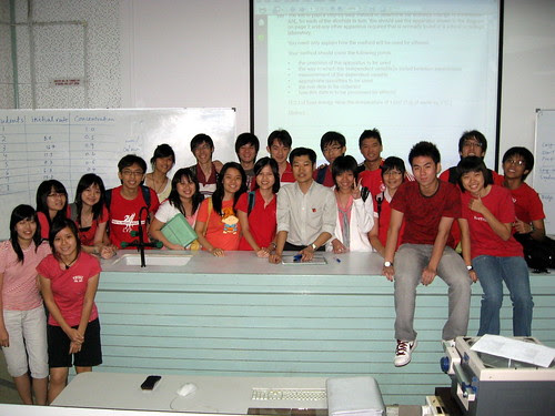 Class pic with Mr Low