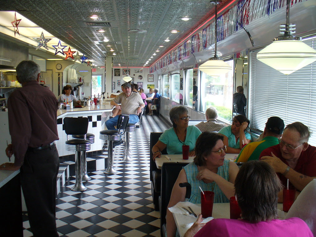 Pennys Diner Vaughn New Mexico Cant Get More Classic