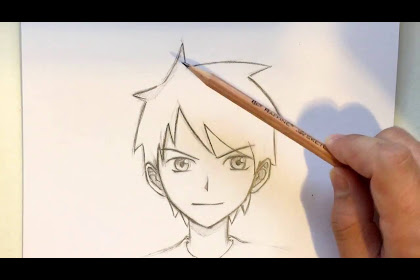 10+ Best For Simple Anime Boy Drawing Easy