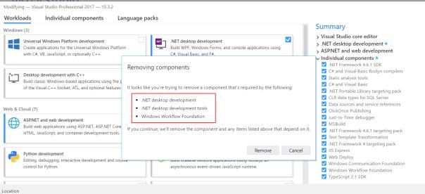 Nitin Sawant's blog: Visual Studio 2017 Installer stuck at