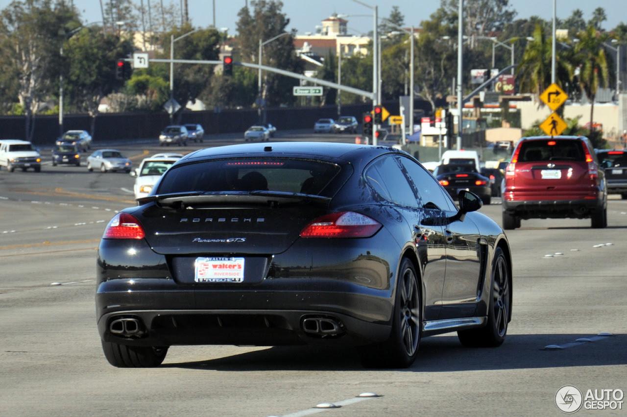 Porsche Panamera GTS - 17 February 2013 - Autogespot