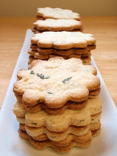 The Cooking of Joy: Sage and Apricot Shortbread Cookies