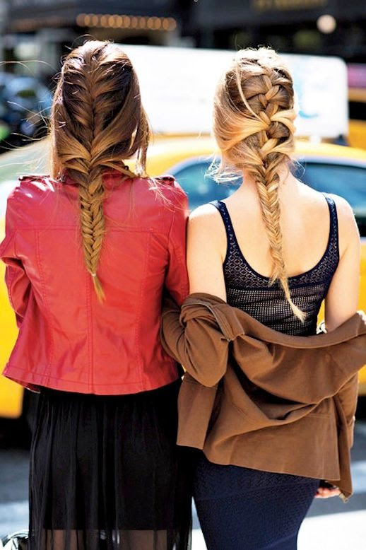5 Le Fashion Blog 21 Braid Ideas For Long Hair French Braided Hairstyle Street Style Via Glamour