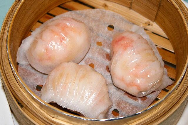Har gau - Steamed prawn dumpling