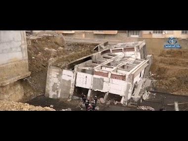 تواصل عمليات البحث إثرانهيار مبنى قيد الإنجاز ببلدية العاشور