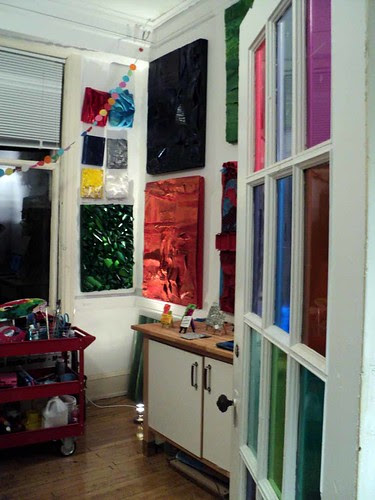 My studio at the Fine Arts Building in downtown Chicago