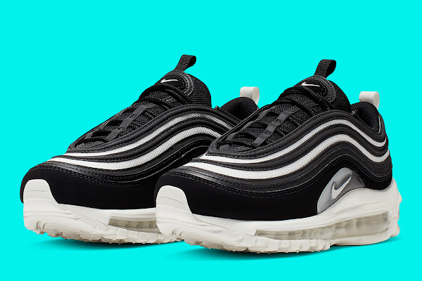 334a296ad05 The Nike Air Max 97 Returns In Another Sleek Black, Grey, And White