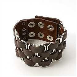 Stainless Steel Bracelets(BJEW-F003-46GHG2)